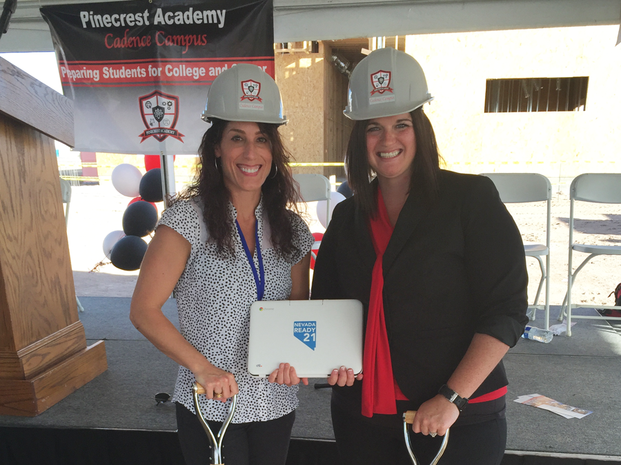 CTL Celebrates with Las Vegas Area Charter School, Pinecrest Academy, at the Groundbreaking of their new Cadence Campus