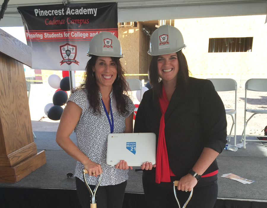 CTL Celebrates with Las Vegas Area Charter School, Pinecrest Academy, at the Groundbreaking of