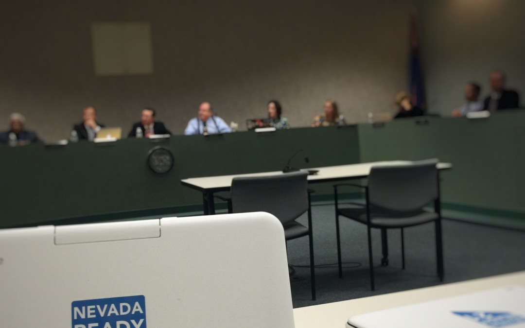 Nevada Commission on Education Technology Meeting 2/29/2016